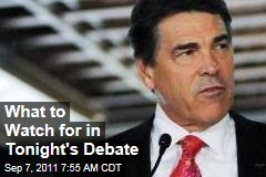 Election 2012: What to Watch for in Tonight's GOP Debate