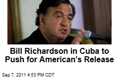 Bill Richardson Goes to Cuba to Plead for Release of Jailed American Contractor Alan Gross