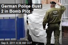 German Police Bust 2 in Bomb Plot