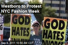 Westboro to Protest NYC Fashion Week