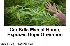 Car Hits Chicago Area-House, Kills Man, Reveals Marijuana Operation