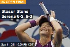 Stosur Beats Serena Williams in US Open Final