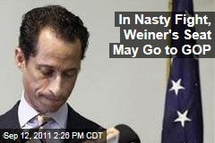 Anthony Weiner's Seat May Go to GOP