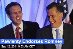 Tim Pawlenty Endorses Mitt Romney