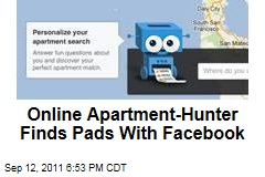 Online Apartment-Hunting Service Integrates With Facebook