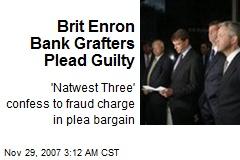 Brit Enron Bank Grafters Plead Guilty