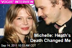 Michelle Williams 'Vogue' Interview: Heath Ledger's Death Changed Me