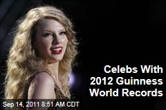 Lady Gaga, Justin Bieber, and More Celebrities With 2012 Guinness World Records