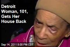 Texana Hollis of Detroit Gets Her House Back After HUD Foreclosure