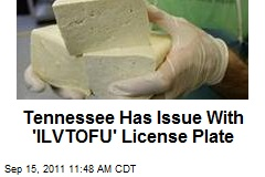 Tennessee Has Issue With 'ILVTOFU' License Plate