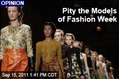 Ashely Mears: Pity the Models of Fashion Week