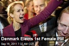 Denmark Elects 1st Female PM