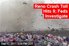 Reno Plane Crash Toll Hits 9; Federal Investigators Investigate