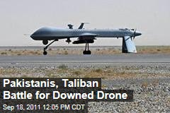 Pakistan, Taliban Battle for Downed CIA Predator Drone