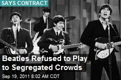 Beatles Refused to Play to Segregated Crowds