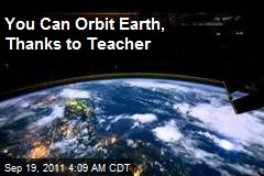 You Can Orbit Earth, Thanks to Teacher's Photos