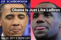 Obama's Just Like LeBron
