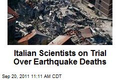 Scientists Prosecuted Over Quake Snafu