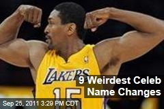 Ron Artest to Metta World Peace and Nine More Weird Celebrity Name Changes