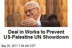Deal in Works to Prevent US-Palestine UN Showdown