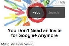 You Don't Need an Invite for Google+ Anymore
