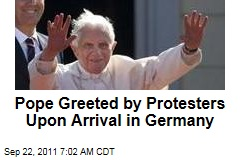 Pope Benedict XVI Arrives in Germany for First State Visit