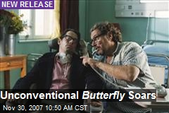 Unconventional Butterfly Soars