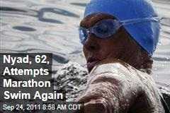Diana Nyad, 62, Again Attempts Marathon Swim From Cuba to Florida