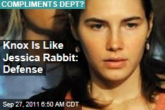 Amanda Knox Is Like Jessica Rabbit: Defense Lawyer