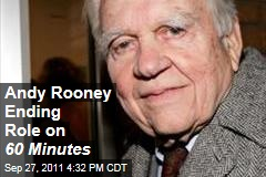 Andy Rooney Ending His Regular Role on '60 Minutes'