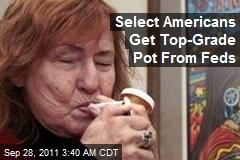 Select Americans Get Top-Grade Pot From Feds