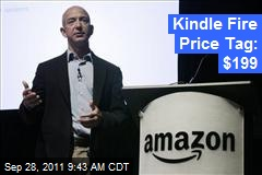 Kindle Fire Price Tag: $199