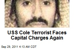 USS Cole Terrorist Faces Capital Charges Again