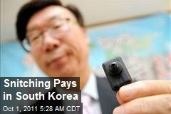 Snitching Pays in South Korea