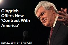 Newt Gingrich Releases New Contract With America