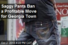 Saggy Pants Ban a Profitable Move for Georgia Town