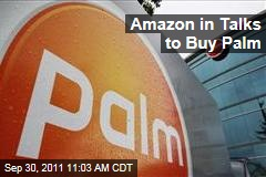 Amazon in Talks with HP to Buy Palm