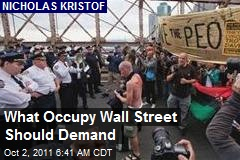 What Occupy Wall Street Should Demand