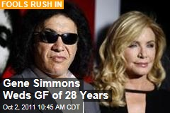 Gene Simmons Wedding: KISS Rocker Marries Shannon Tweed, Girlfriend of 28 Years