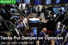 Techs Put Damper on Optimism