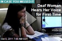 VIDEO: Deaf Woman Sarah Churman Hears for the First Time, Goes Viral