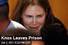 Amanda Knox Leaves Prison After Verdict in Kercher Murder Trial