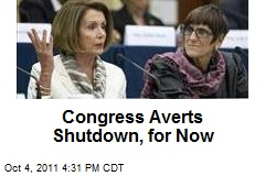 Congress Averts Shutdown, for Now
