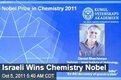 Israeli Scientist Daniel Shechtman Wins Chemistry Nobel for Discovery of Quasicrystals