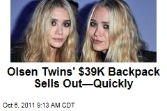 Olsen Twins' $39K Backpack Sells Out: Ashley, Mary-Kate Offer Expensive Alligator Bag in The Row Collection