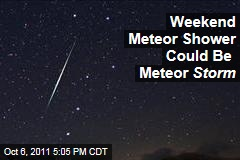 Draconid Meteor Shower Could Be Intense Saturday, but North American May Be Out of Luck