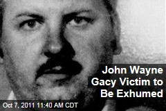 John Wayne Gacy Victim, Said to Be Michael Marino, Will Be Exhumed