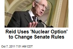 Harry Reid's 'Nuclear Option' Changes Senate Filibuster Rules