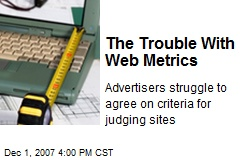 The Trouble With Web Metrics
