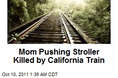 Mom Pushing Stroller Killed by Calif. Train